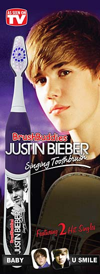 The singing toothbrush will be released this summer. - BrushBuddies