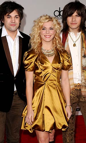 The Band Perry: (from left to right) Neil, Kimberly, and Reid - Jason Merritt/Getty Images