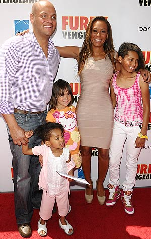 The Brown-Belafonte brood hits the red carpet. - Jason LaVeris/FilmMagic.com
