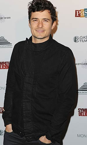 "Orlando Bloom hit up a soiree for his indie flick, ""Sympathy for Delicious,"" on Wednesday. - Jason Merritt/Getty Images"