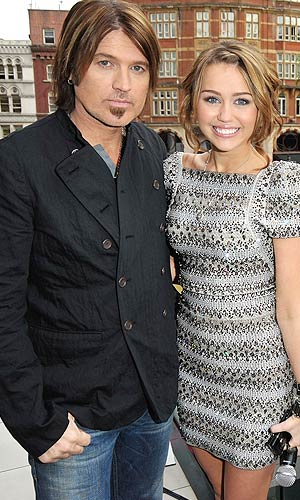 Billy Ray Cyrus says he wants nothing but happiness for his daughter Miley. - Jon Furniss/WireImage.com
