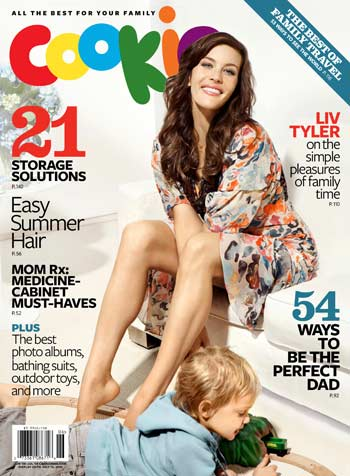 Liv Tyler opens up to Cookie magazine about motherhood. - Pamela Hanson/Cookie