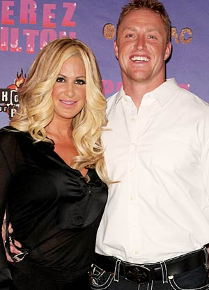 Kim and her boyfriend Kroy Biermann can't wait for their bundle of joy to arrive! - om Briglia/FilmMagic