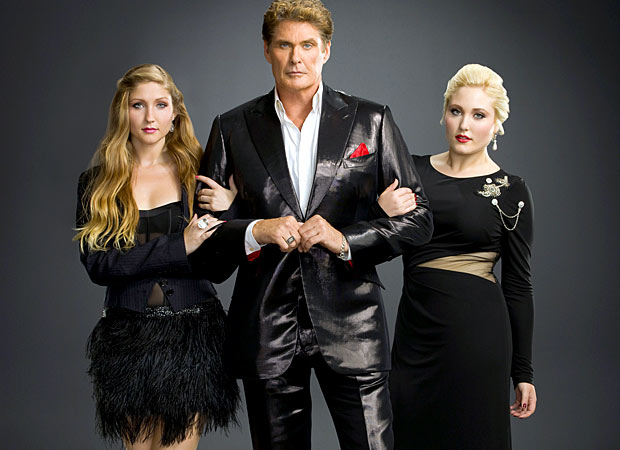 "The Hoff is very supportive of his girls, who both want to pursue careers in entertainment. ""They're gonna break out,"" he asserts. ""That's any dad's dream ... to watch their daughters follow in his footsteps."" - A&E"