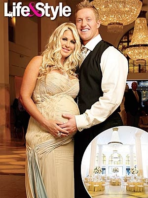 Kim Zolciak and Kroy Biermann can't wait for their bundle of joy to arrive! - David Yellen/Life & Style