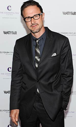 David Arquette at the Art Of Elysium art auction in Hollywood, California, February 23, 2011. - Michael Buckner/Getty Image
