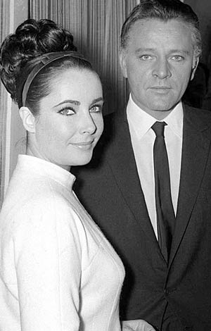 Elizabeth Taylor and Richard Burton. - Mirrorpix/Courtesy Everett Collection