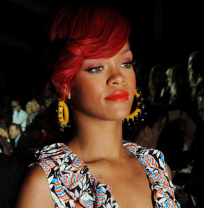 Rihanna at a Fashion Week event in New York. - Dominique Charriau/WireImage