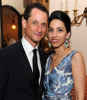 The Weiner and his Wife. - Dimitrios Kambouris/WireImage