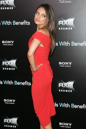 Mila's got back. - Jim Spellman/WireImage