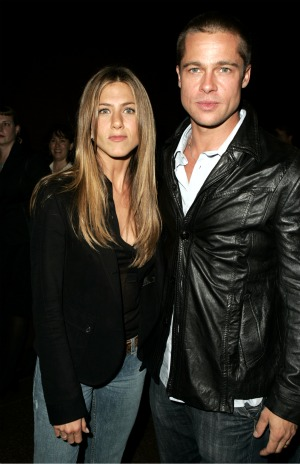 The last photo of Brad and Jen, snapped in October 2004. - J. Vespa/WireImage