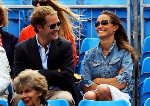 Pippa and Percy. - Julian Finney/Getty Images