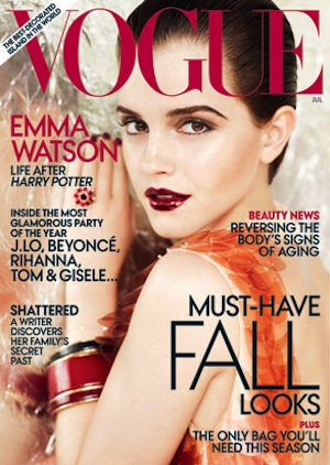Cover girl. - Vogue