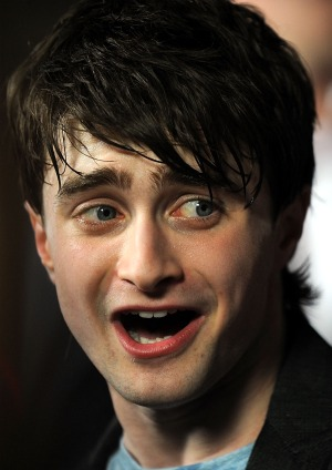 Daniel Radcliffe kisses and tells. - Gustavo Caballero/Getty Images
