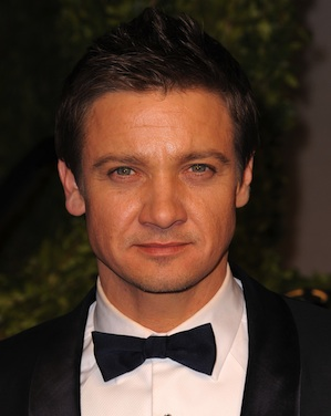Renner finds love in the air. -  Jordan Strauss/WireImage