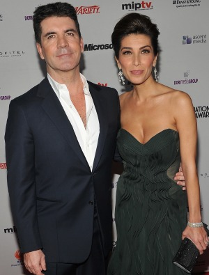 Simon and Mezghan together again. - Theo Wargo/WireImage