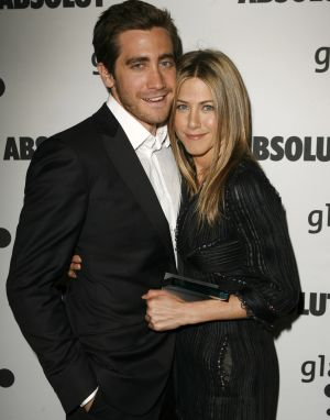 Aniston with Swift's former paramour. - Jeff Vespa/WireImage