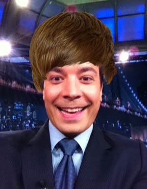 Jimmy Fallon Biebers himself! - NBC
