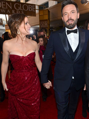 Ben Affleck and Jennifer Garner. (Alberto Rodriguez/NBC)