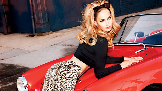 Jennifer Lawrence in Vanity Fair (Photo: Ellen Von Unwerth/Vanity Fair)