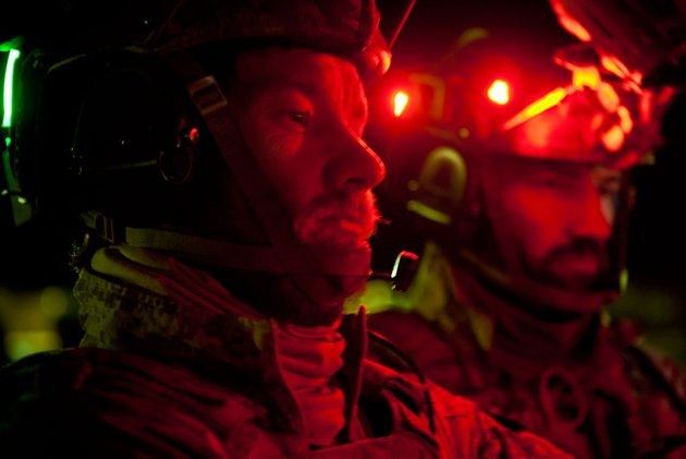 SEAL Team 6 members, as portrayed in 'Zero Dark Thirty' (Photo: Columbia Pictures)