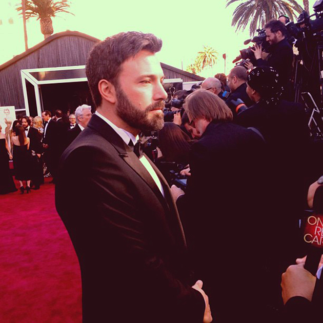 Ben Affleck joins Instagram on Oscar night