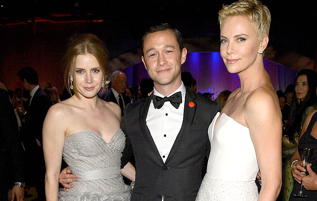 Amy Adams, Joseph Gordon-Levitt, and Charlize Theron (WireImage)