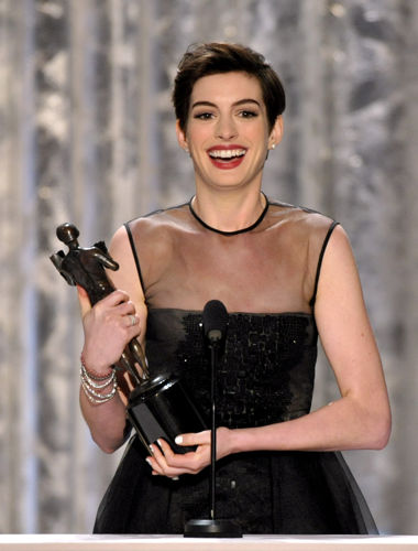 19th Annual SAG Award winner Anne Hathaway (Photo: John Shearer/Invision/AP)