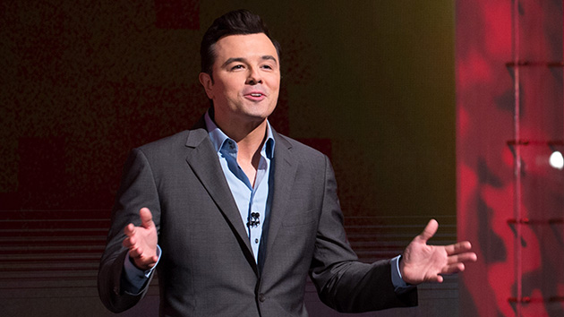 Oscar host Seth MacFarlane (Photo: Matt Petit/AMPAS)