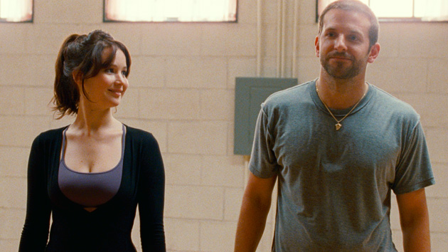 Jennifer Lawrence and Bradley Cooper in 'Silver Linings Playbook' (Photo: The Weinstein Company)