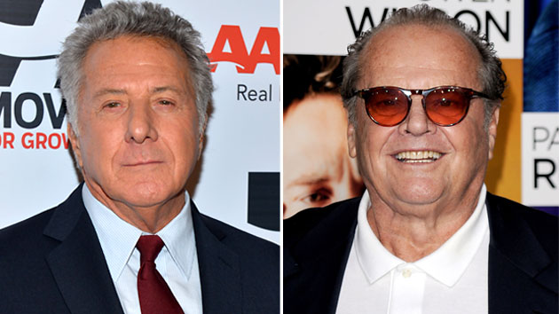 Dustin Hoffman (Photo: Alberto E. Rodriguez/Getty Images); Jack Nicholson (Photo: Jason Merritt/Getty Images)