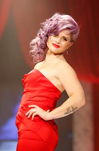 Kelly Osbourne: 'People aren't afraid of me because they know I'm not mean.' (John Minchillo/Invision/AP)