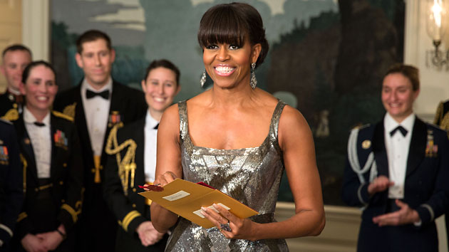 Michelle Obama presents the Oscar for Best Picture (Photo: Pete Souza/White House)
