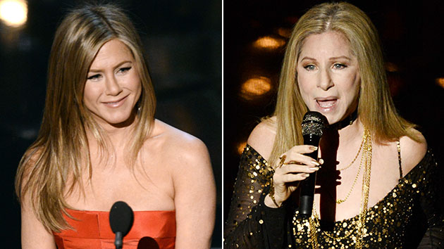 Jennifer Aniston and Barbra Streisand at the Oscars (Photo: Kevin Winter/Getty Images)