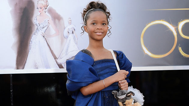 Oscar nominee Quvenzhane Wallis (Photo: Jason Merritt/Getty Images)