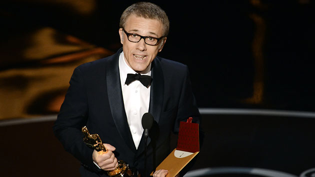 Christoph Waltz wins his second Academy Award on Sunday (Photo: Kevin Winter/Getty Images)