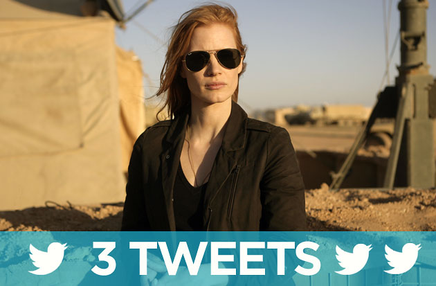 'Zero Dark Thirty' photo courtesy of Columbia Pictures