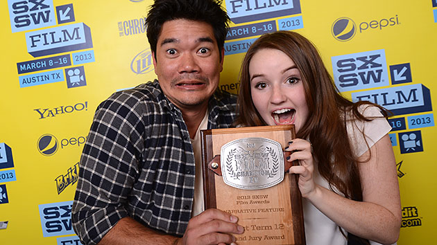 'Short Term 12' Director Destin Cretton and actress Kaitlyn Dever at SXSW (Photo: Michael Buckner/Getty Images)