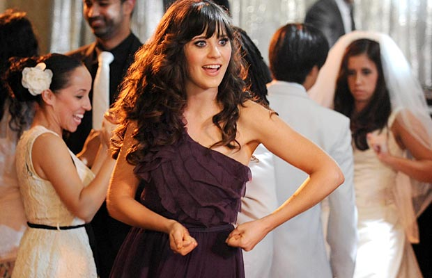 "Zooey Deschanel in ""The New Girl."" FOX"