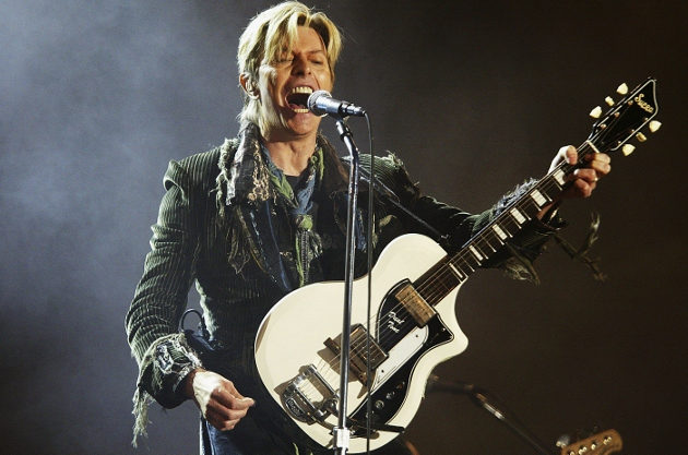 David Bowie, shown performing at the Isle of Wight Festival, last toured in 2004. His new album, 'The Next Day,' topped the UK charts this week. (Photo by Jo Hale/Getty Images)