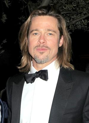 Brad Pitt is believed to be related to King Henry II. (Photo by Dave M. Benett/Getty Images)