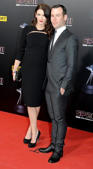 Cyclist Mark Cavendish, with girlfriend Peta Todd at last year's awards ceremony, was the SPOTY winner in 2011. (Photo by Shirlaine Forrest/WireImage)