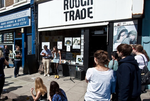 British singer Eliza Doolittle performed live at Rough Trade West in London during a previous Record Store Day. (Photo by Edd Westmacott/Photoshot/Getty Images)