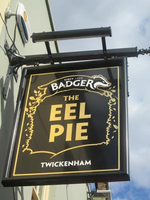 The Eel Pie pub is a favorite stop for fans heading to rugby at Twickenham. (Photo by Matt Goff)