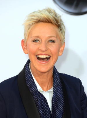 Ellen DeGeneres is another royal relative. (Photo by Frazer Harrison/Getty Images Entertainment)