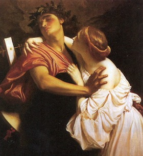Frederic Leighton's painting of Orpheus and Eurydice reflects his interest in classical themes. (Public domain, via Wikimedia Commons)