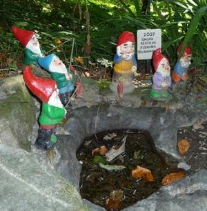 Scuba Dive an Underwater Gnome Garden in Britain's Lake District