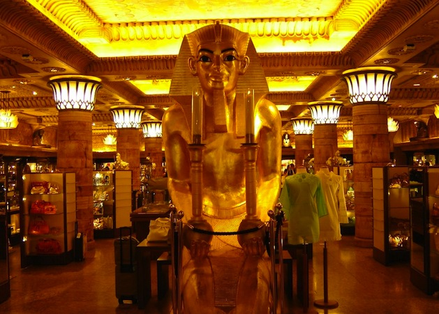 The Dgyptian Room at Harrods department store is one of London's wonders. (Photo by I, Targeman via Wikimedia Commons)