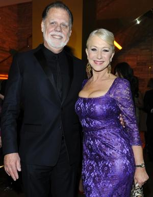 Dame Helen Mirren (shown here with her husband, film director Taylor Hackford) is known as much for looking great at middle age as for her stellar acting. (Photo by Venturelli/WireImage)