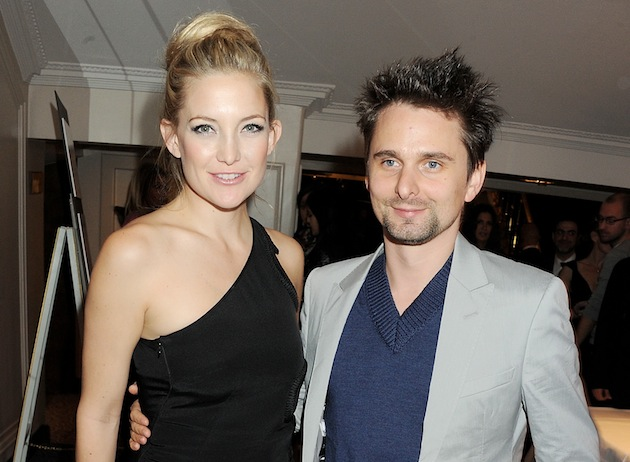 Kate Hudson and Matt Bellamy have been going out on the town in London. (Photo by Dave M. Benett/Getty Images)